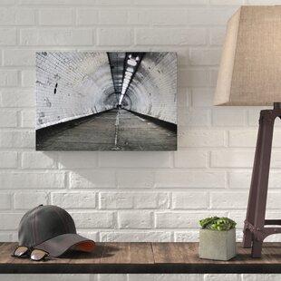 c28ef6c5ebc Architecture London Underground Tunnel Photographic Print on Canvas