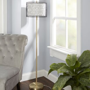 Wire cage floor lamp wayfair amici 595 floor lamp with wire cage accent keyboard keysfo Image collections