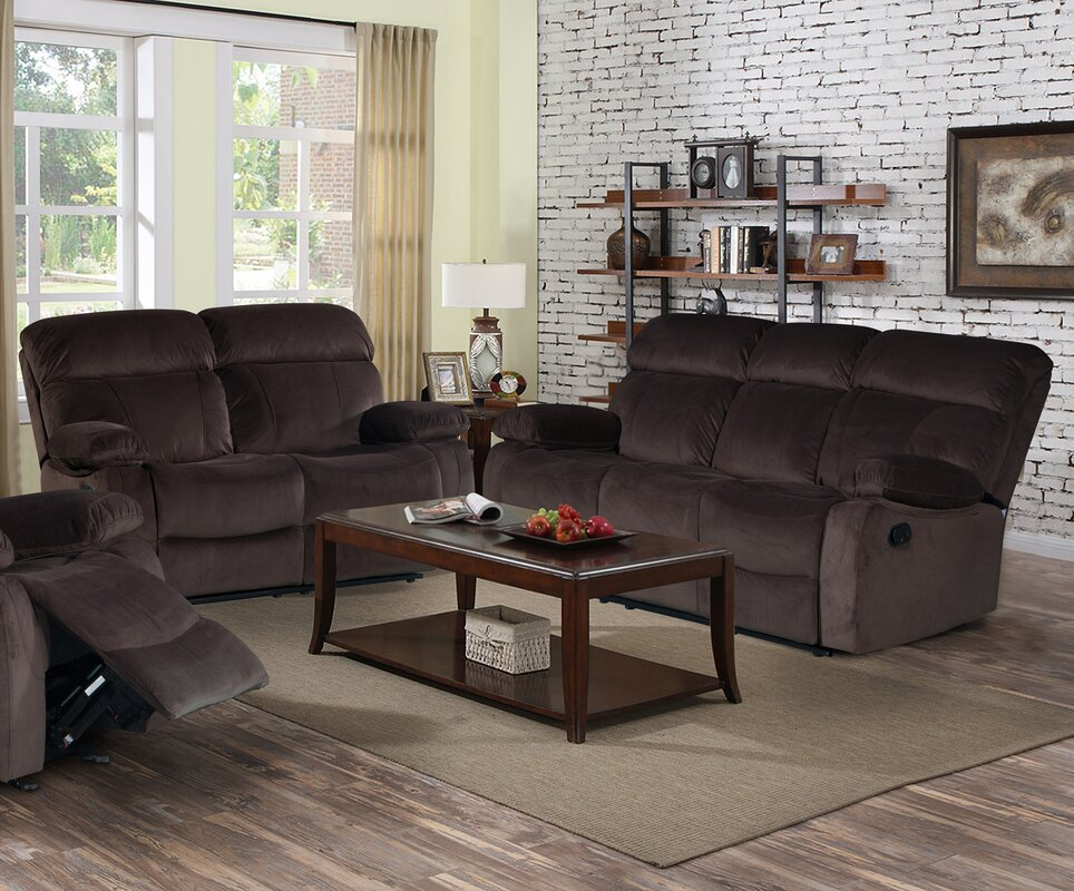 Living in style alvia 2 piece living room set reviews for Living room 5 piece sets