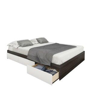 Allure Storage Sleigh Bed by Nexera