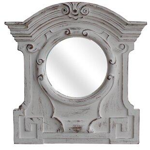 Antique White Resin Mirror