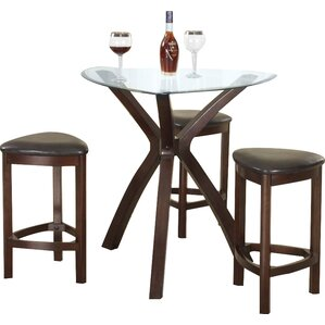 Burnell 4 Piece Counter Height Pub Table Set by ..