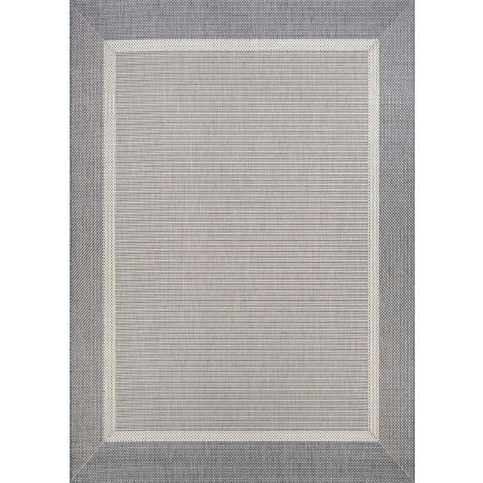 Beachcrest Home Linden Grey Indoor/Outdoor Area Rug & Reviews ...