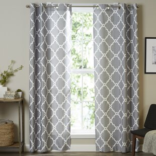 Aqua And Gray Curtains