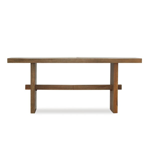 Foundry Select Burkhardt Mango Wood Dining Table | Wayfair