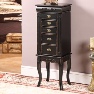 Anti Tarnish Jewelry Armoire Wayfair