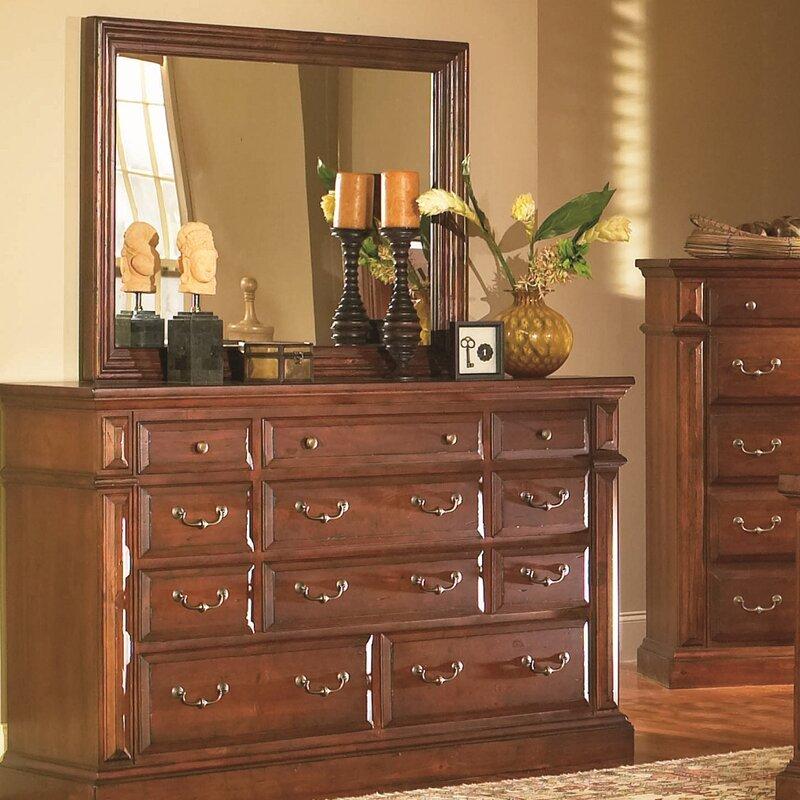 Torreon 11 Drawer Dresser With Mirror