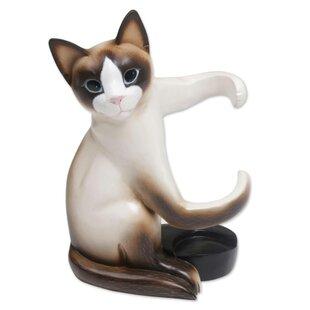 Moton Cat Hug Tabletop Wine Bottle Rack