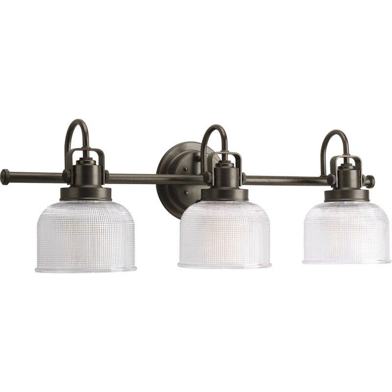 Beachcrest Home Gotha 3 Light Vanity Light Reviews: Gotha 3-Light Vanity Light & Reviews
