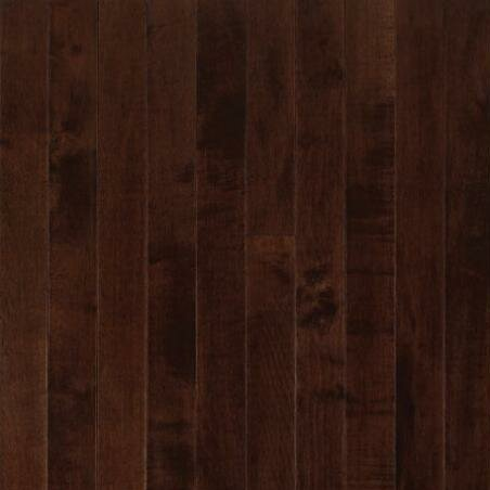 SAMPLE - Sugar Creek Strip Solid Maple in Cocoa Brown