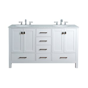 60 Bathroom Vanity 60 Inch Bathroom Vanities You'll Love  Wayfair