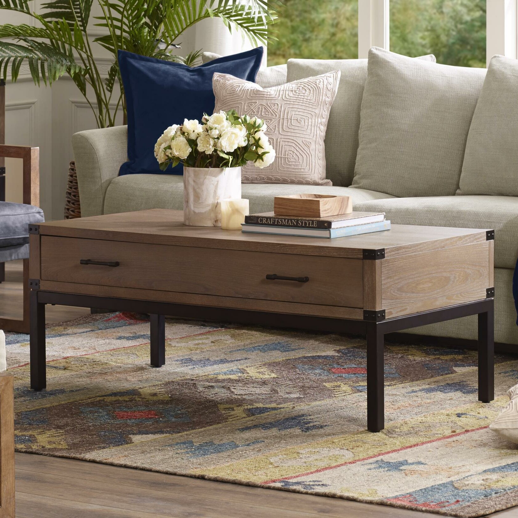 Ordinaire Harbor House Fraser Coffee Table With Storage | Wayfair
