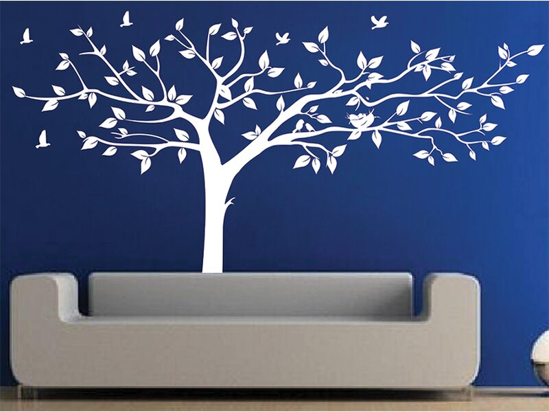 pop decors super big tree wall decal & reviews   wayfair.ca