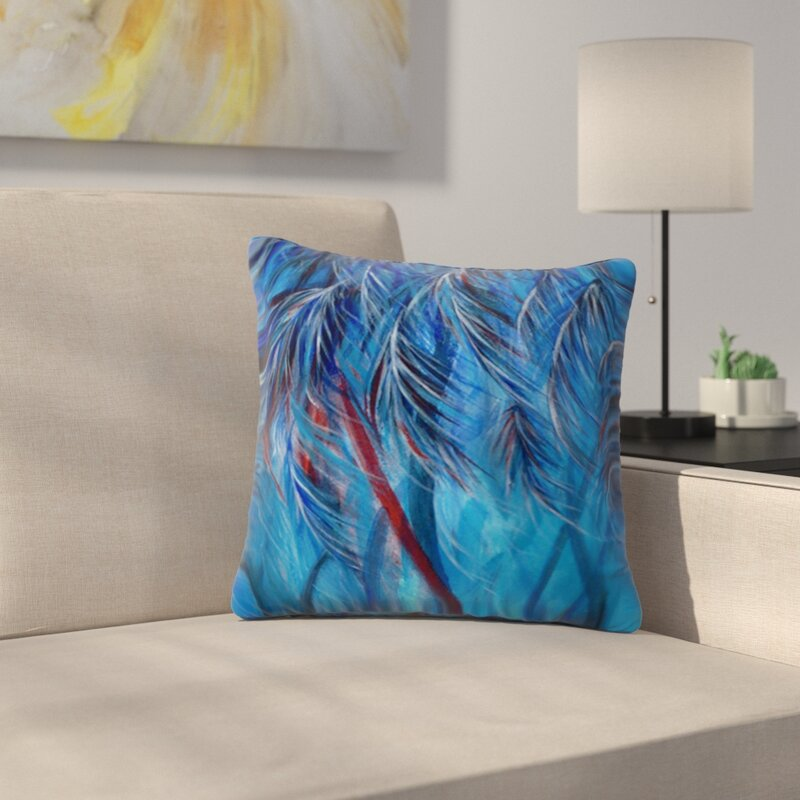 East Urban Home Tropical By Rosie Brown Outdoor Throw Pillow Wayfair
