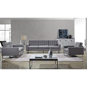 living room sets modern. Angela 3 Piece Living Room Set Modern Sets  AllModern