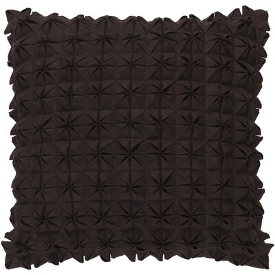 Brayden Studio Ebro Structure 100% Wool Throw Pillow Cover