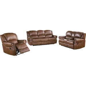 Darby Home Co Baynes 3 Piece Living Room Set