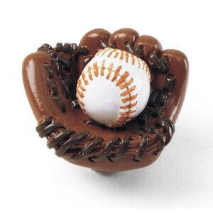 Whim-Z Baseball Novelty Knob