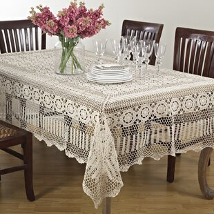 Perfect Crochet Lace Tablecloth | Wayfair