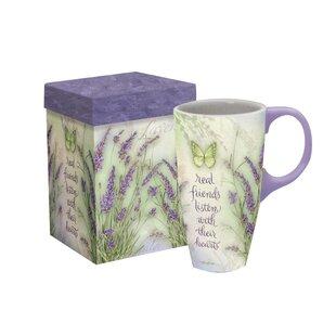 Bayonne Lavender Latte Mug