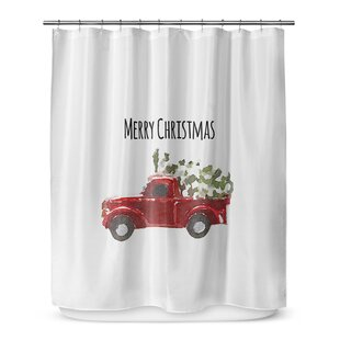 91 Chevy Shower Curtain Unusually Retro Witch