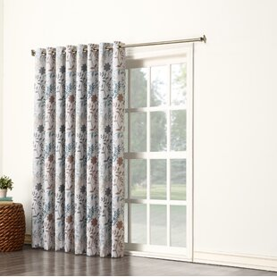 Extra Wide Patio Door Drapes Wayfair