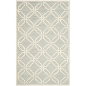 Martins Light Grey/Ivory Area Rug