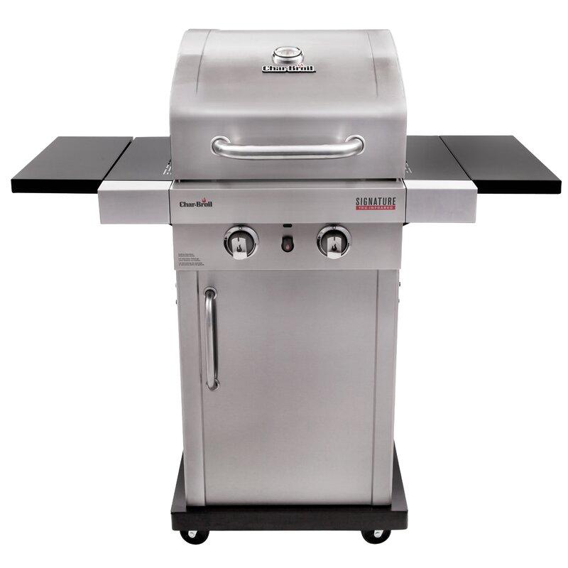 Grill Cabinet: CharBroil Signature™ TRU-InfraRed™ 2-Burner Propane Gas