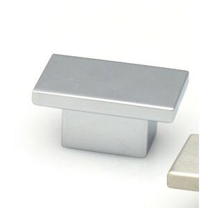 Contemporary Rectangle Novelty Knob