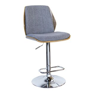 Varda Adjustable Height Swivel Bar Stool