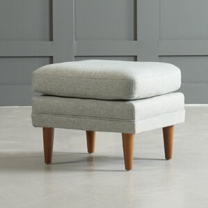 Rockford Ottoman by DwellStudio