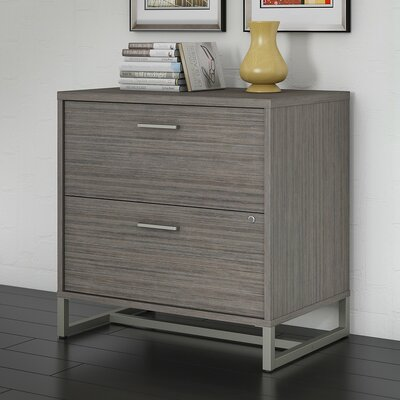 Method 2 Drawer Lateral Filing Cabinet Kathy Ireland Office by Bush Finish: Cocoa