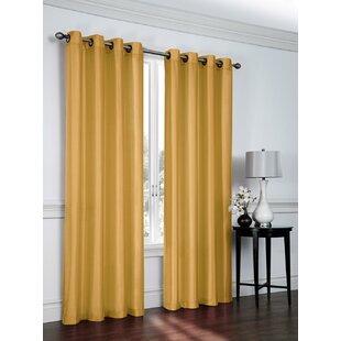 silk curtain panels thai silk quickview gold faux silk curtains wayfair