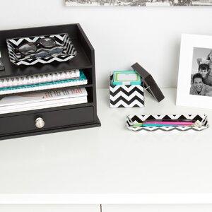 Luxe 3 Piece Desk Supplies Organizer Set