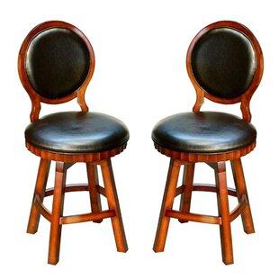 Carolina 26 Swivel Bar Stools (Set of 2)
