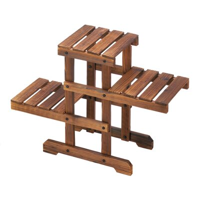 Terwilliger Zigzag Pallet Multi Tiered Plant Stand