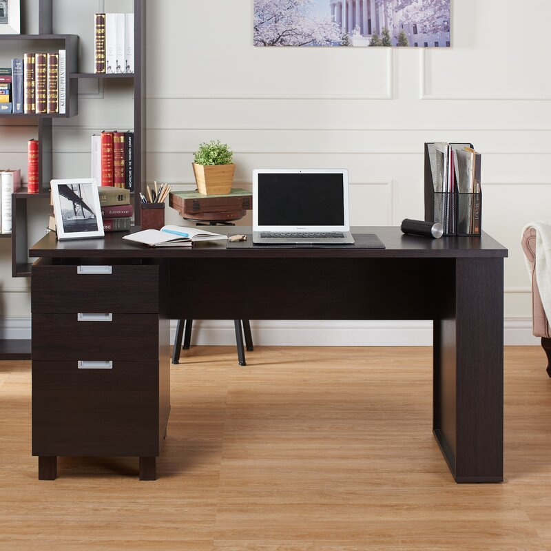 computer desk with filing cabinet latitude run maxwell file cabinet computer desk amp reviews 13777