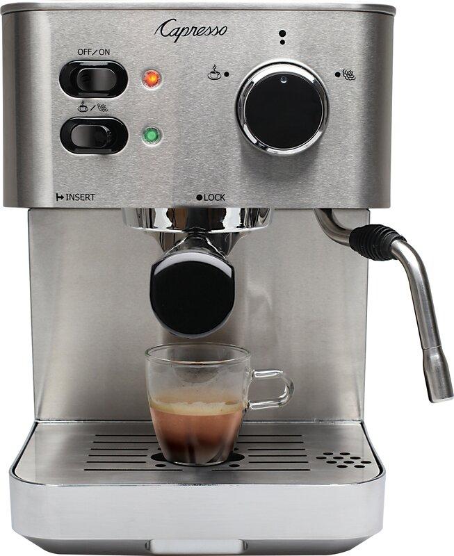 Pro Coffee Maker ~ Capresso ec pro professional coffee espresso maker