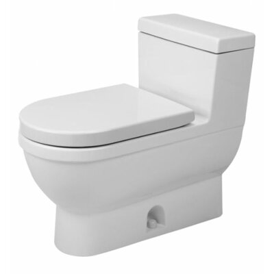 starck 3 128 gpf elongated onepiece toilet - Power Flush Toilet