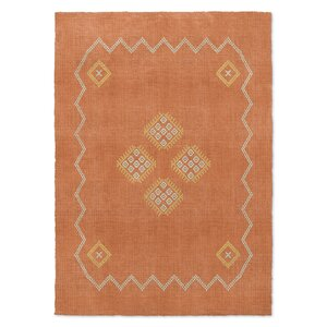 Stellan Kilim Orange Area Rug