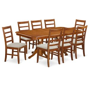 Napoleon 9 Piece Dining Set by East West Furniture