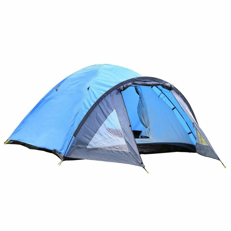 Semoo Lightweight 4 Person Tent with Carry Bag  sc 1 st  Wayfair & Semoo Semoo Lightweight 4 Person Tent with Carry Bag u0026 Reviews ...