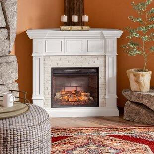 Corner Infrared Fireplace | Wayfair