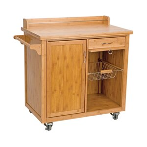 Open Storage Kitchen Islands & Trolleys | Wayfair.co.uk | {Küchenwagen holz 53}