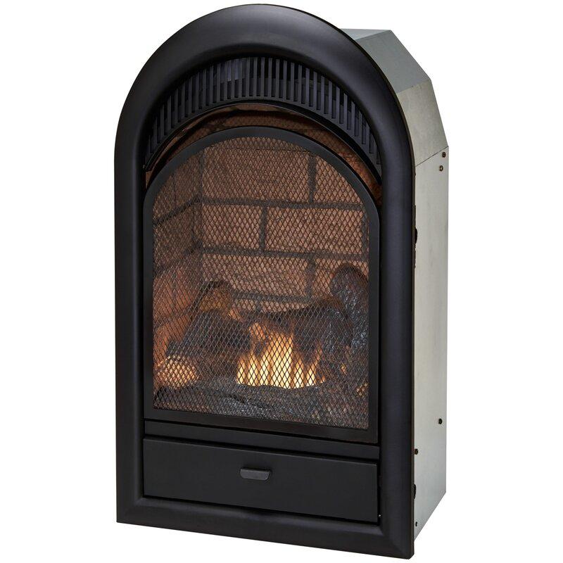 duluth forge vent free natural gas propane fireplace insert rh wayfair com vent free propane fireplace insert with blower best ventless propane fireplace insert