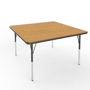 48 square table wayfair 48 square activity table watchthetrailerfo