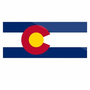 U0027Colorado State Flagu0027 By Bruce Stanfield Graphic Art Print On Metal