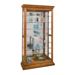 Goldenberg Lighted Curio Cabinet by Darby..