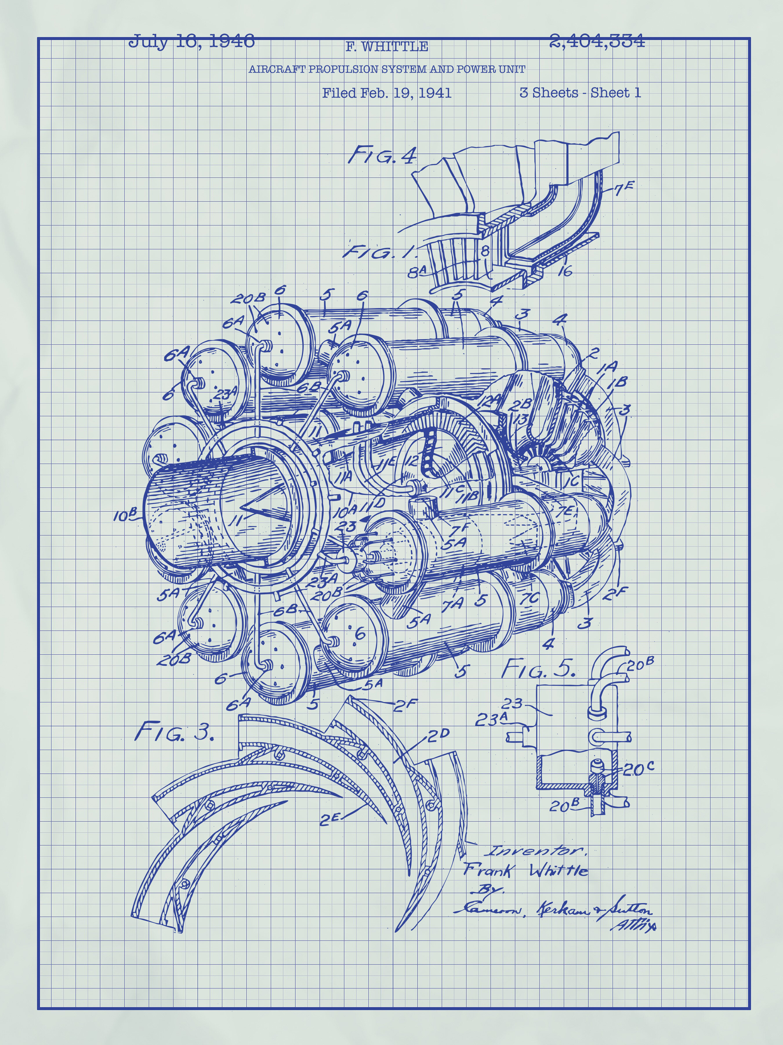 Inked and screened airplane engine blueprint graphic art reviews inked and screened airplane engine blueprint graphic art reviews wayfair malvernweather Image collections