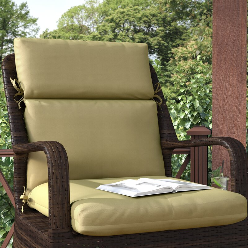 Channeled Indoor Outdoor Sunbrella Lounge Cushion